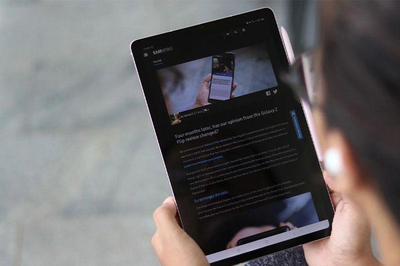 Máy tính bảng Samsung Galaxy Tab A7 (2020) | Thời lượng sử dụng pin trâu