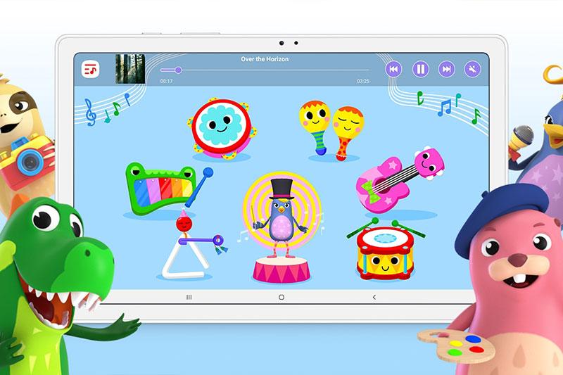 Máy tính bảng Samsung Galaxy Tab A7 (2020) | Chế độ Kids Mode
