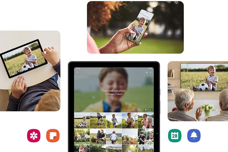 Máy tính bảng Samsung Galaxy Tab A7 (2020) | Camera bắt trọn mọi khoảnh khắc