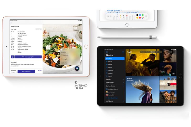 iPad được mang giao diện mới   iPad 2020