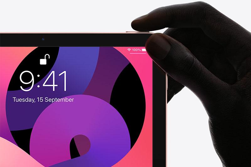 iPad Air 4 | Lượt bỏ nút Home, tích hợp Touch ID trên nút nguốn