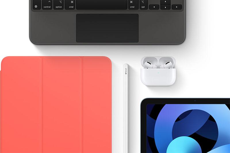 iPad Air 4 | Có thể kết nối với Apple Pencil 2 hay Magic Keyboard
