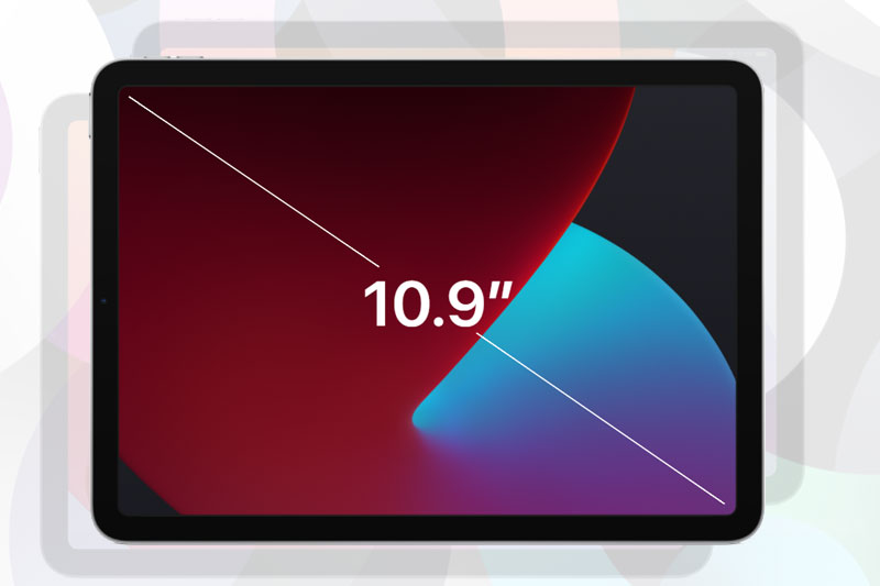 Sở hữu màn hình 10.9 inch | iPad Air 4