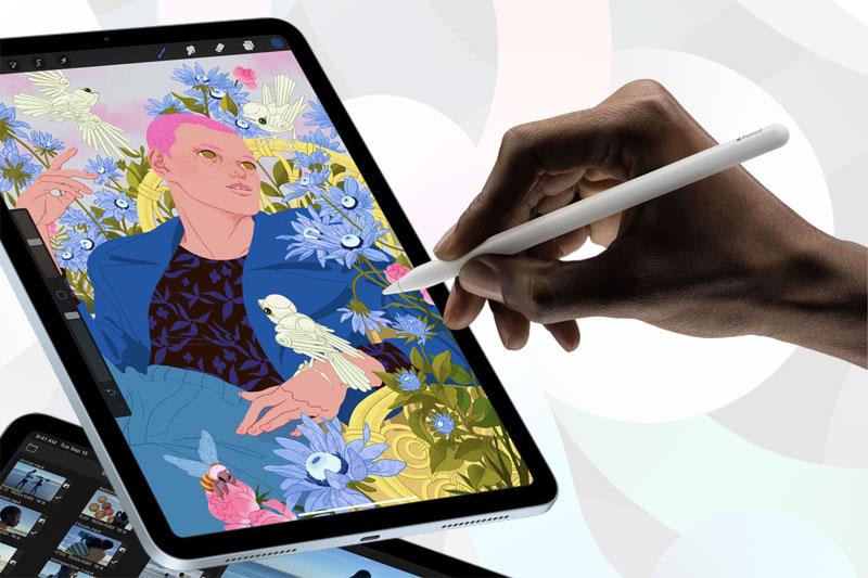 Hỗ trợ Apple Pencil | iPad Air 4