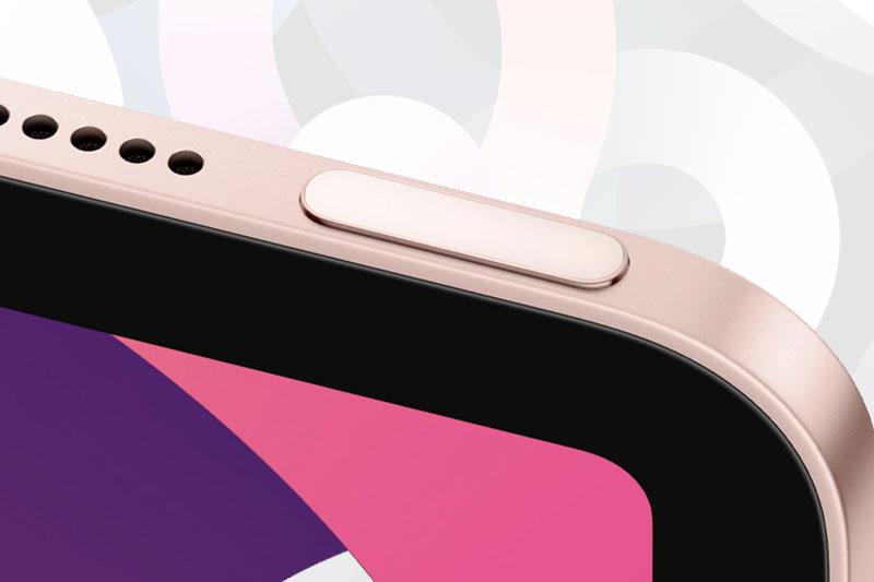 Touch ID được đặt ở phím nguồn | iPad Air 4
