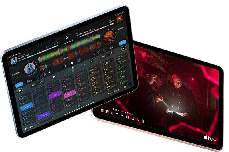 iPad Air 4 Wifi Cellular 256GB (2020) | Bộ nhớ trong 256 GB, mở rộng lên đến 2 TB trên iCloud