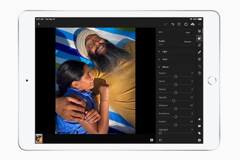 iPad 8 Wifi 128GB (2020) | Facetime HD với độ nét chuẩn 1280 x 720