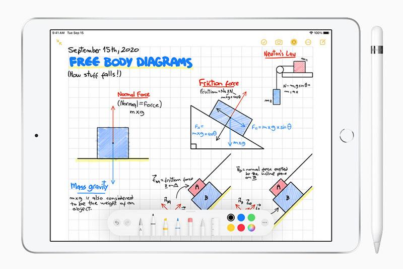 iPad 8 Wifi 128GB (2020) | Hoạt động vô cùng mượt mà với bút Apple Pencil