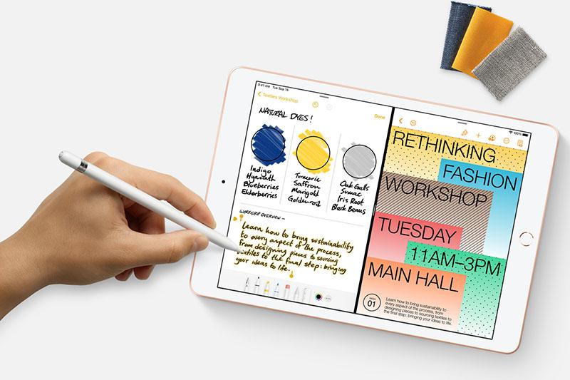 iPad 8 Wifi Cellular 32GB (2020) | Tối ưu hóa công việc, học tập với Apple Pencil và Smart Keyboard