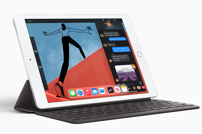 iPad 8 Wifi Cellular 128 GB | Nút home tích hợp cảm biến vân tay Touch ID