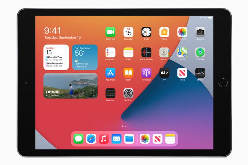 iPad 8 Wifi Cellular 128 GB | Thiết kế nhôm nguyên khối, dễ dàng cầm nắm