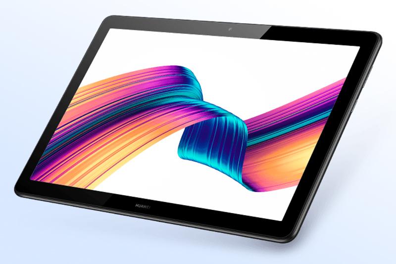 Huawei Mediapad T5   Góc cạnh bo tròn,mềm mại