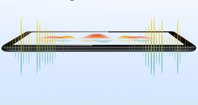 Máy tính bảng Huawei Mediapad T5 10.1 inch (3GB/32GB) Vàng   Hệ thống âm thanh sống động