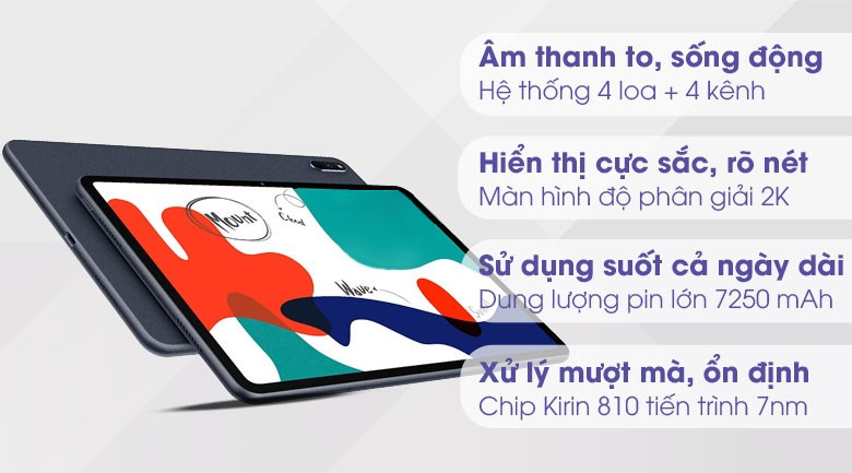 Huawei MatePad 64GB (Nền tảng Huawei Mobile Service)