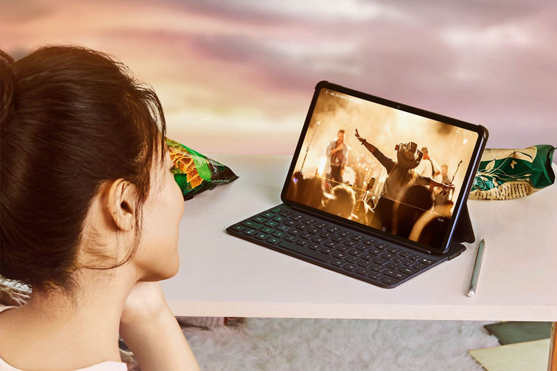 Máy tính bảng Huawei MatePad | Hiệu ứng âm thanh sống động
