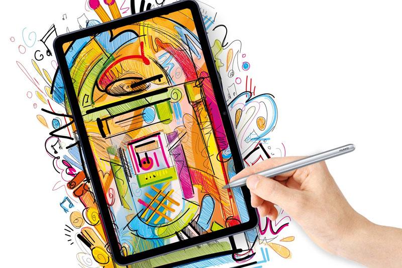 Máy tính bảng Huawei MatePad | Hỗ trợ bút Huawei M Pencil