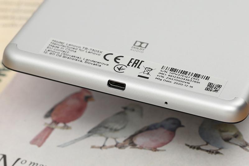 Lenovo Tab M7 | Sở hữu viên pin có dung lượng 3500 mAh thỏa sức giải trí