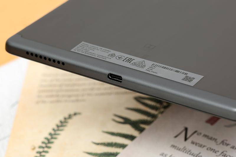 Lenovo Tab M10 - FHD Plus   Pin Li-Po dung lượng 5000 mAh, đáp ứng nhu cầu giải trí cả ngày dài