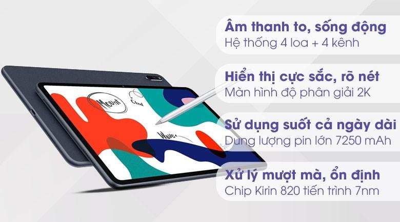 Huawei MatePad 128GB (Nền tảng Huawei Mobile Service)