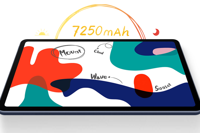 Huawei MatePad | Dung lượng pin lớn đi kèm công suất sạc 10 W