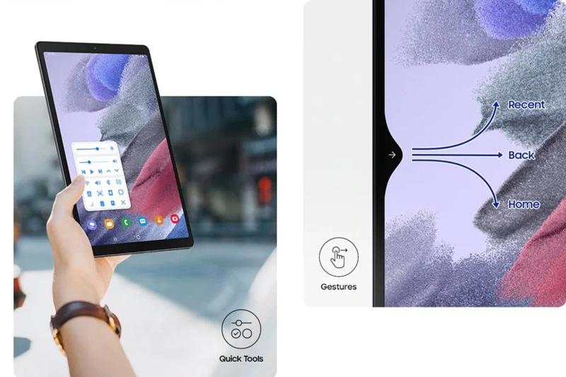 Galaxy Tab A7 Lite | Thiết kế tổng thể