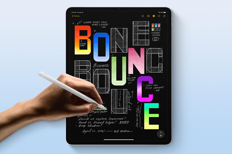 iPad Pro M1 11 inch WiFi 128GB (2021) | Khả năng đồ họa, chỉnh sửa các video độ phân giải lớn trơn tru