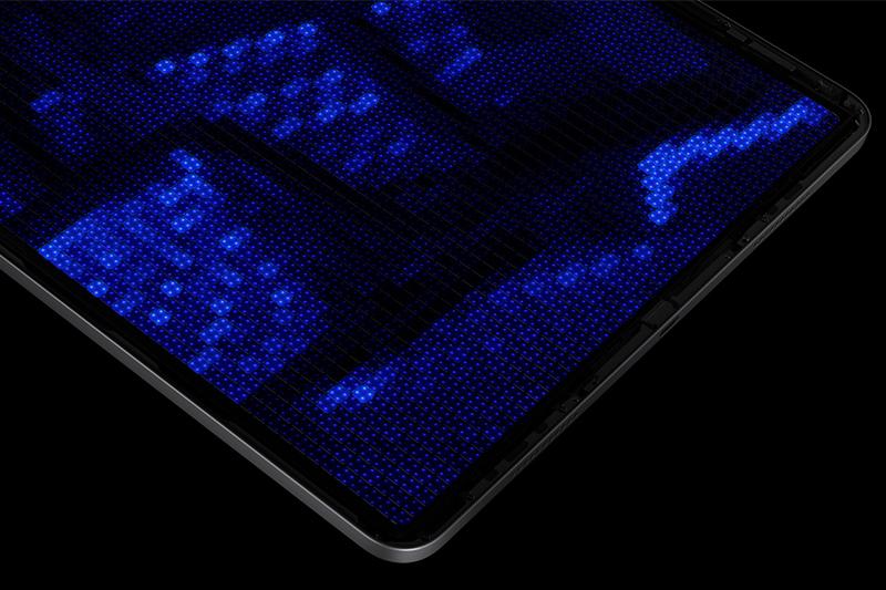 iPad Pro M1 12.9 inch WiFi 256GB (2021)   Màn hình sử dụng đến tận 10.000 đèn LED