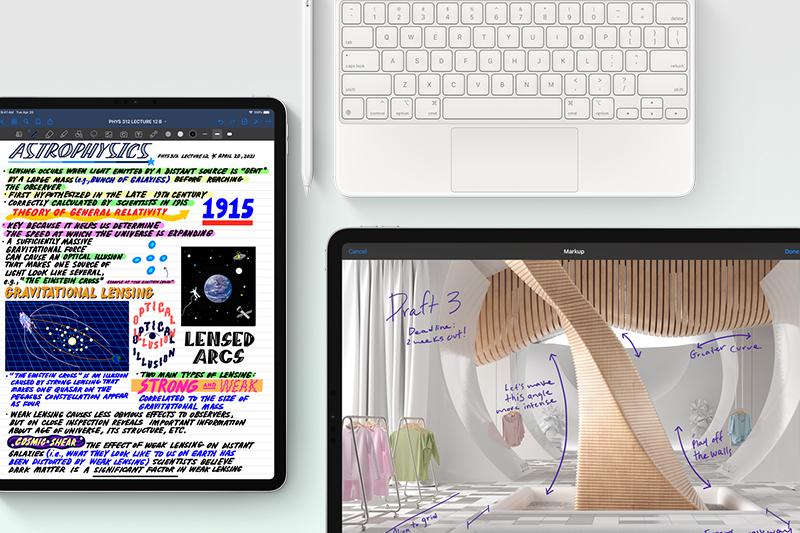iPad Pro M1 12.9 inch WiFi 256GB (2021)   Vi xử lí mang lại khả năng dựng các mô hình AR phức tạp hay chơi game ở mức đồ họa cao nhất