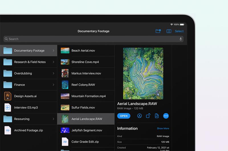 iPad Pro M1 12.9 inch WiFi Cellular 128GB (2021) | 8 GB RAM cùng 128 GB ROM mở rộng không gian lưu trữ