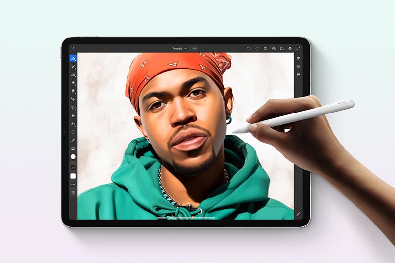 iPad Pro M1 12.9 inch WiFi Cellular 128GB (2021) | Chơi game đồ họa ở tốc độ khung hình cao, mượt mà