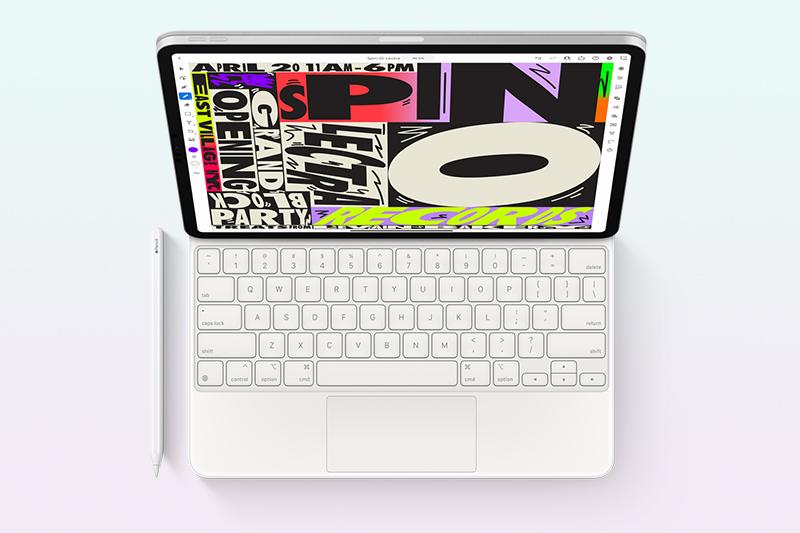 iPad Pro M1 12.9 inch WiFi Cellular 128GB (2021) | Hỗ trợ của các phụ kiện bàn phím, bút Apple Pencil