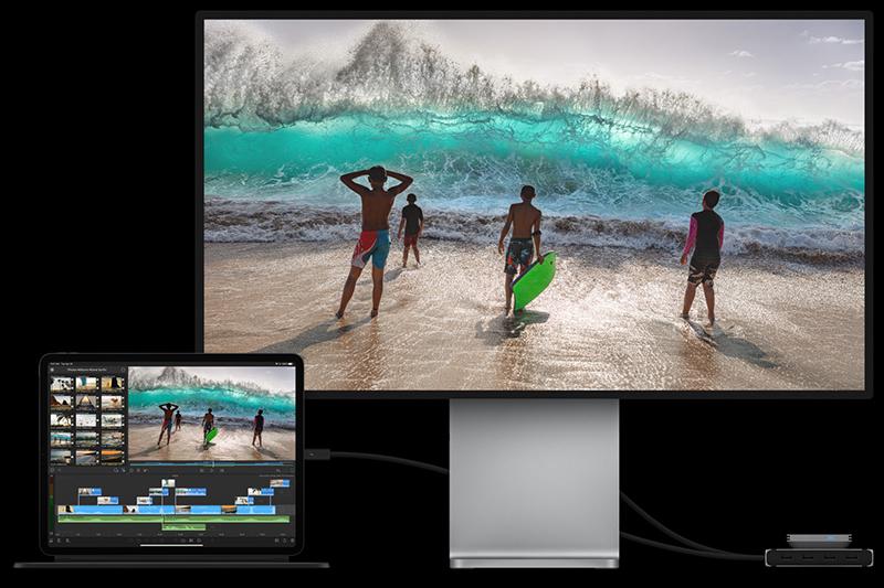 iPad Pro M1 12.9 inch WiFi Cellular 128GB (2021) | Kết nối Thunderbolt 4 qua cổng USB-C