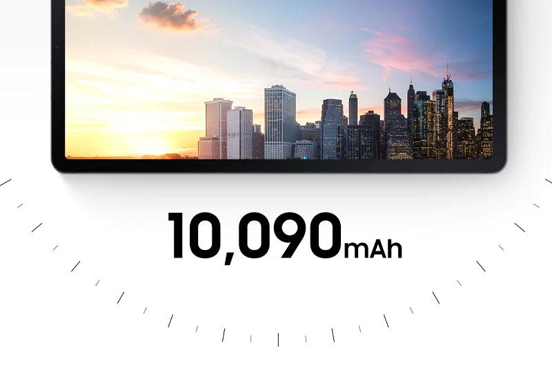 Galaxy Tab S7 FE | Dung lượng pin lớn 10.090 mAh