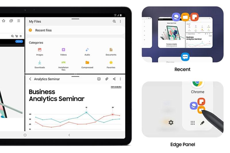 Galaxy Tab S7 FE | Nhu cầu đa nhiệm tốt