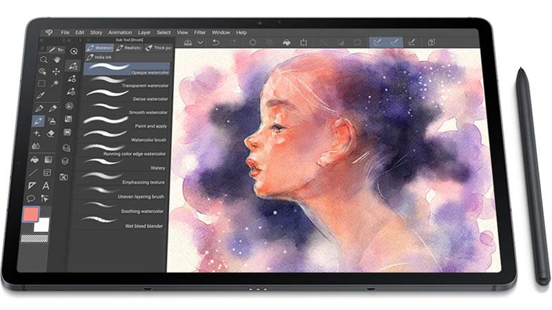 Galaxy Tab S7 FE | Hỗ trợ với bút S-Pen
