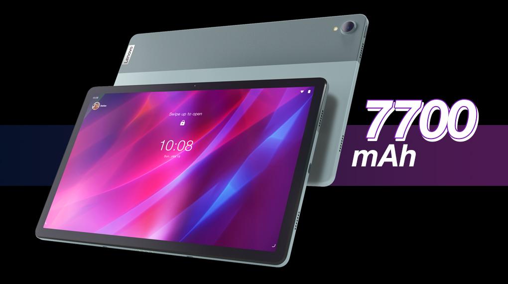 Dung lượng pin 7700 mAh - Lenovo Tab P11 Plus