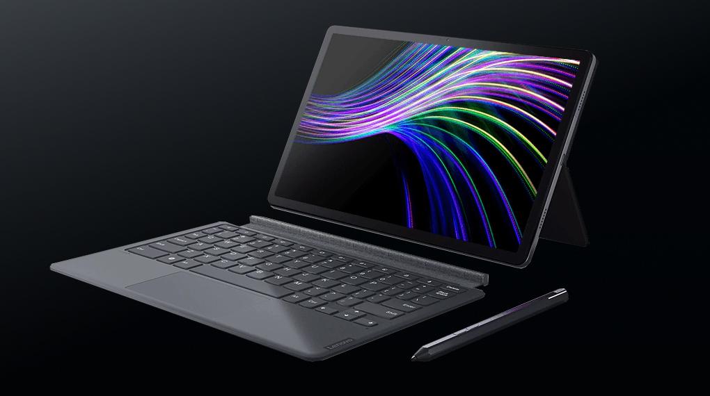 Hỗ trợ kết nối với bàn phím ngoài - Lenovo Tab P11 Plus