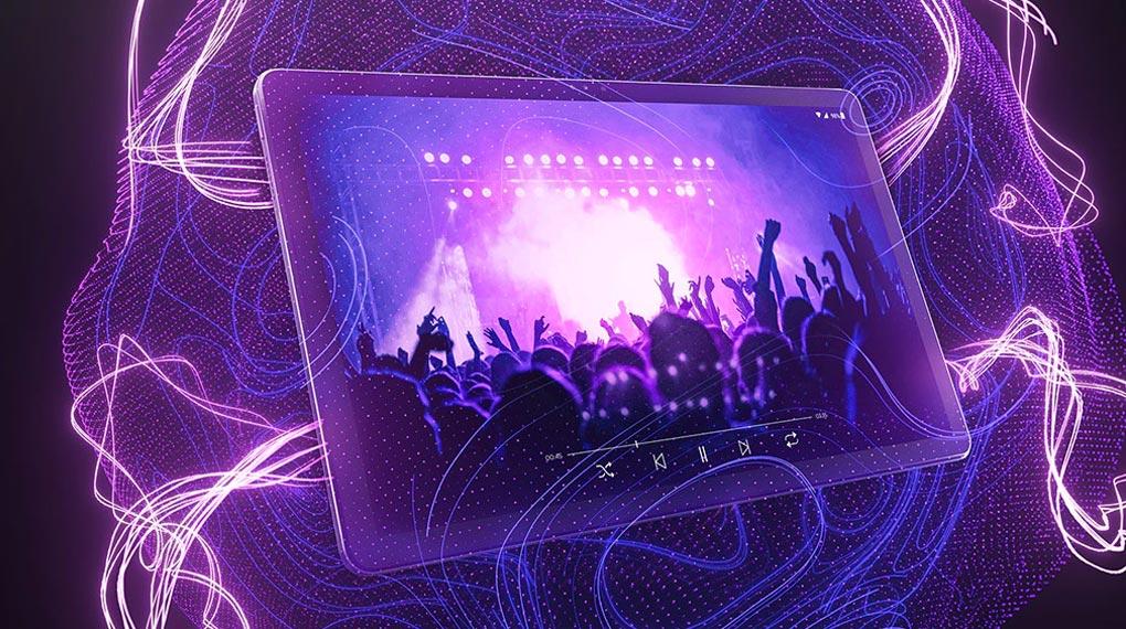 Công nghệ âm thanh Dolby Atmos - Lenovo Tab P11 Plus