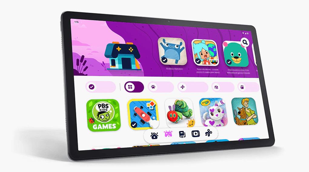 Google Kids Space - Lenovo Tab P11 Plus