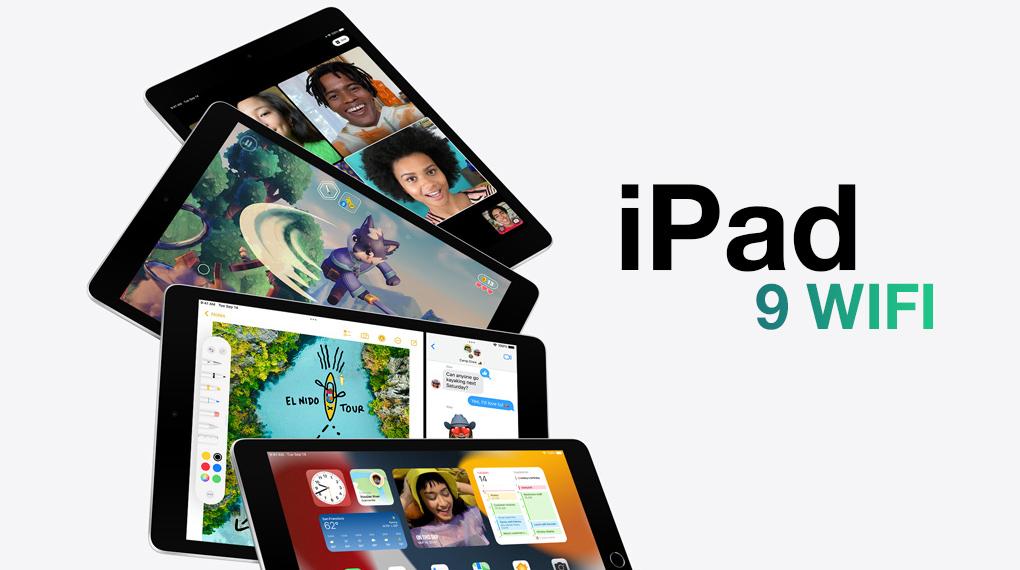 Kiểu dáng thanh lịch, sang trọng - iPad 9 WiFi 64GB