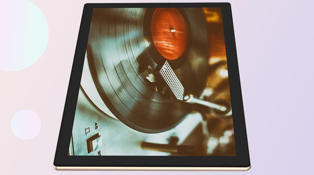 Máy tính bảng Masstel Tab 10.1 inch | Viền màn hình được làm tối giản đều nhau