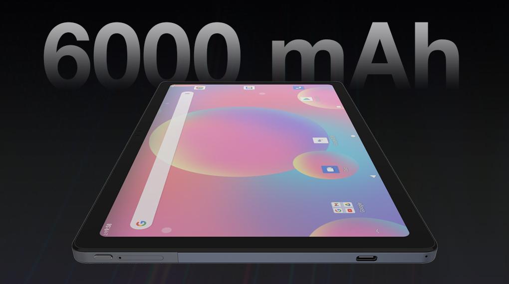 Dung lượng pin 6000 mAh - Masstel Tab 10.4