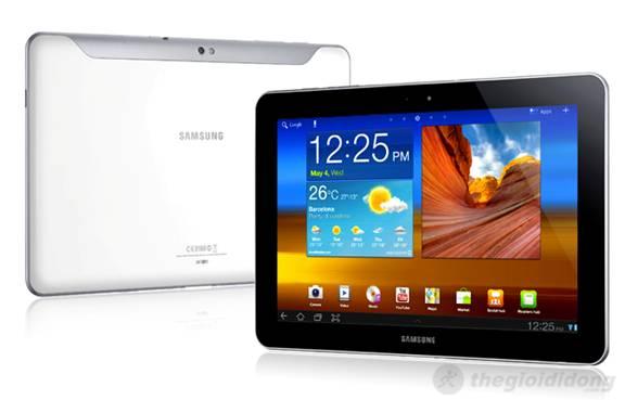 GALAXY Tab 10.1 với thiết kế  mỏng hơn cả iPad 2