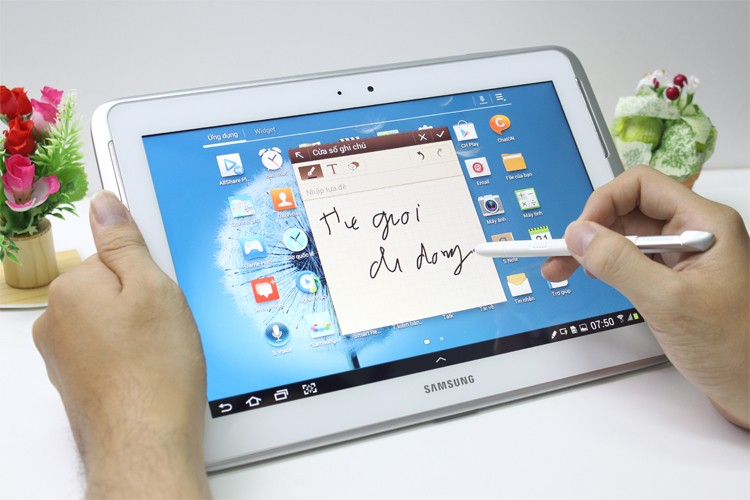 Samsung Galaxy Note 10.1 Note anywhere