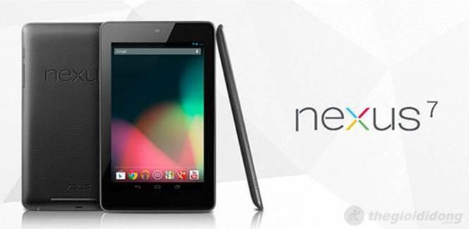 Nexus 7 là mẫu máy tính bảng 7 inch nhỏ gọn