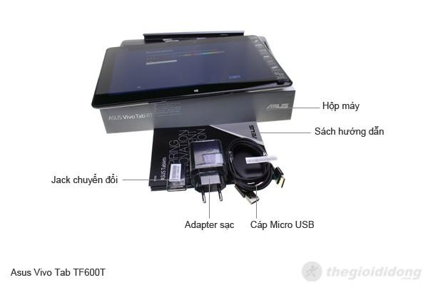 Bộ bán hàng chuẩn của Asus Vivo Tab TF600T