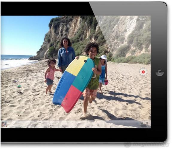Quay video 1080p cùng ipad 4