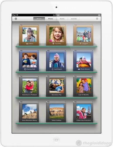 Xem ảnh trên iPhoto trên ipad 4