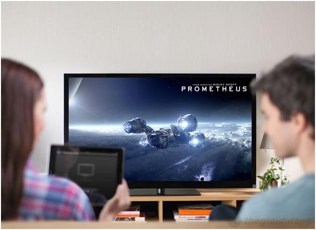 ipad 4 có thể xem phim trên màn hình lớn qua AirPlay