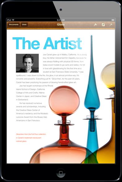 iPad mini có màn hình tỉ lệ 4:3 hiển thị đầy đủ thông tin